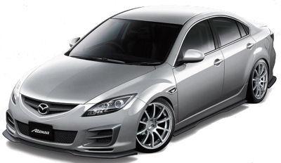 Présentation du Mazda Atenza Mazdaspeed concept