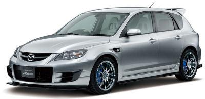 Présentation du Mazda Axela Mazdaspeed concept